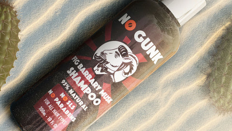 NO GUNK FIG BARBARY MUSK NATURAL SHAMPOO