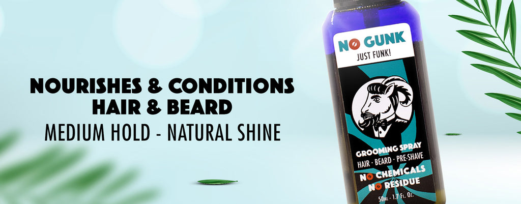 NO GUNK Grooming Spray Organic Beard Oil Lulu Saudi Arabia