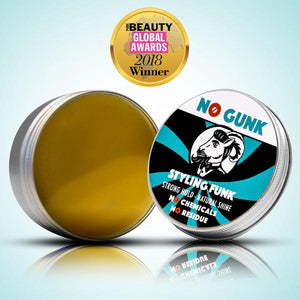 Natural Hair Wax Natural Hair Care Organic Hair Wax Pomade Best Male Hair Product 2018 NO GUNK Styling Funk PURE Beauty Global Awards open