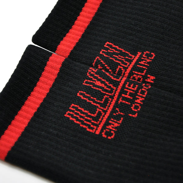 OTB X ILLVZN Black Socks