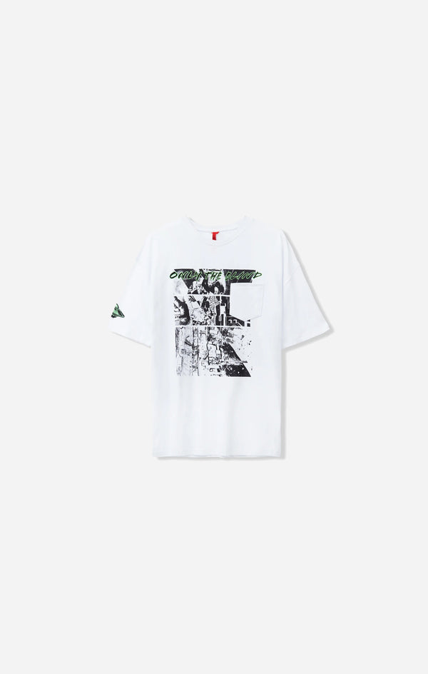 White Spaceship T-Shirt