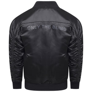 Signature Satin Triple Black Bomber