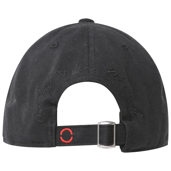 OTB Embroidered Black Cap