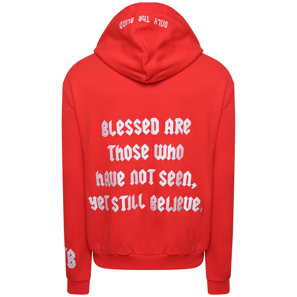 OTB Signature hoodie 'Blessed are those who have not seen, yet still believe'