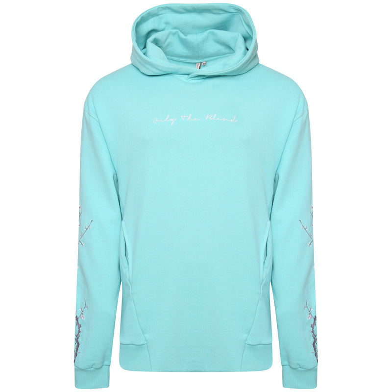 OTB Tiffany Blue Embroidered Compound Sweater