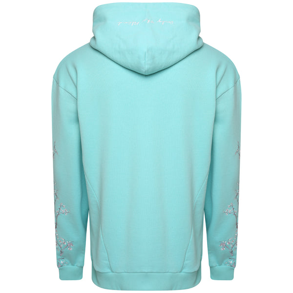 Cotton compound tiffany blue sweatshirt