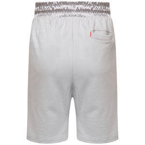 Cotton grey jersey shorts