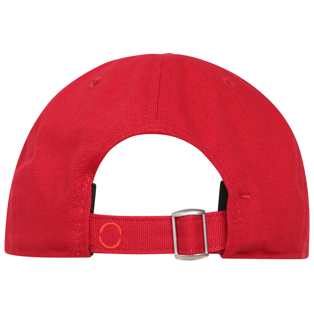 Cotton signature red baseball hat