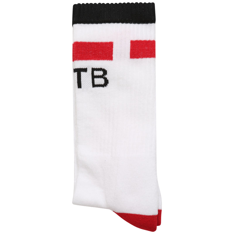 White tube socks for sneakers
