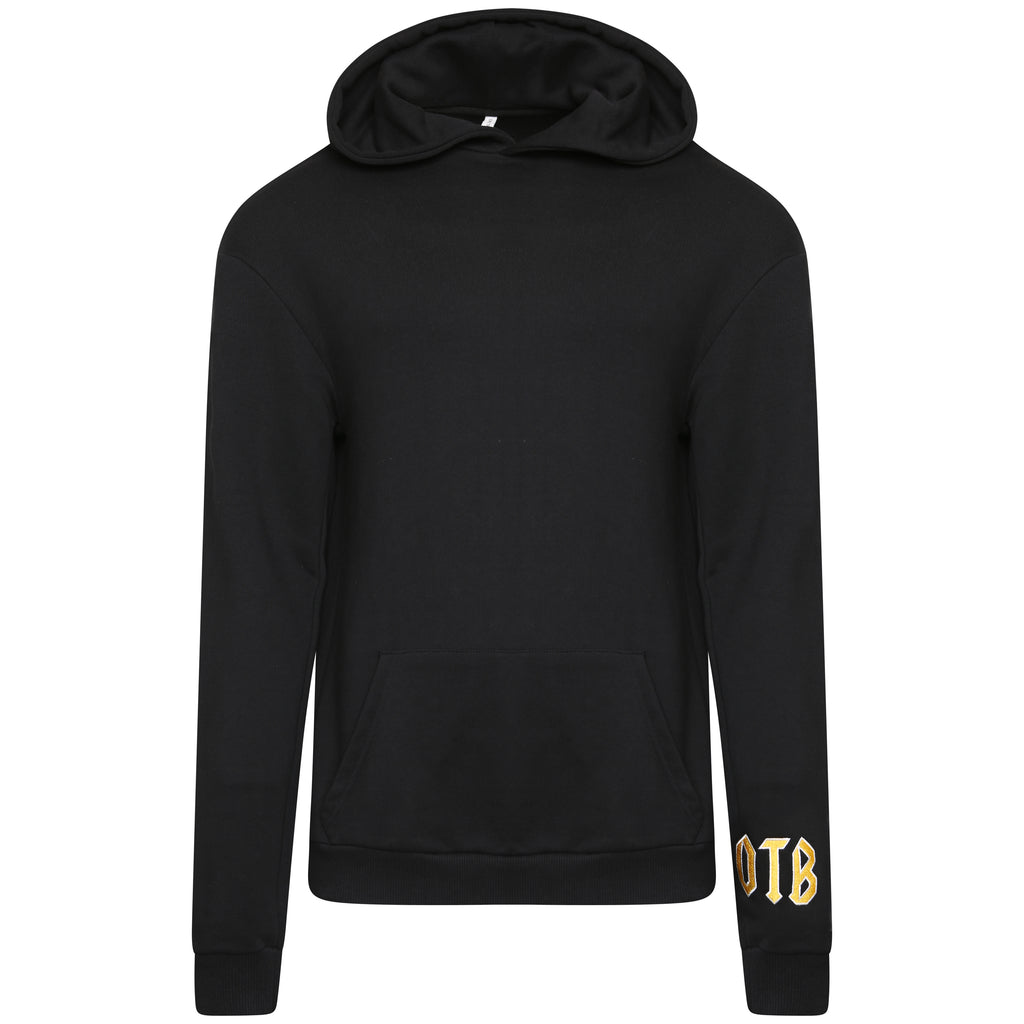 Cotton black statement sweatshirt