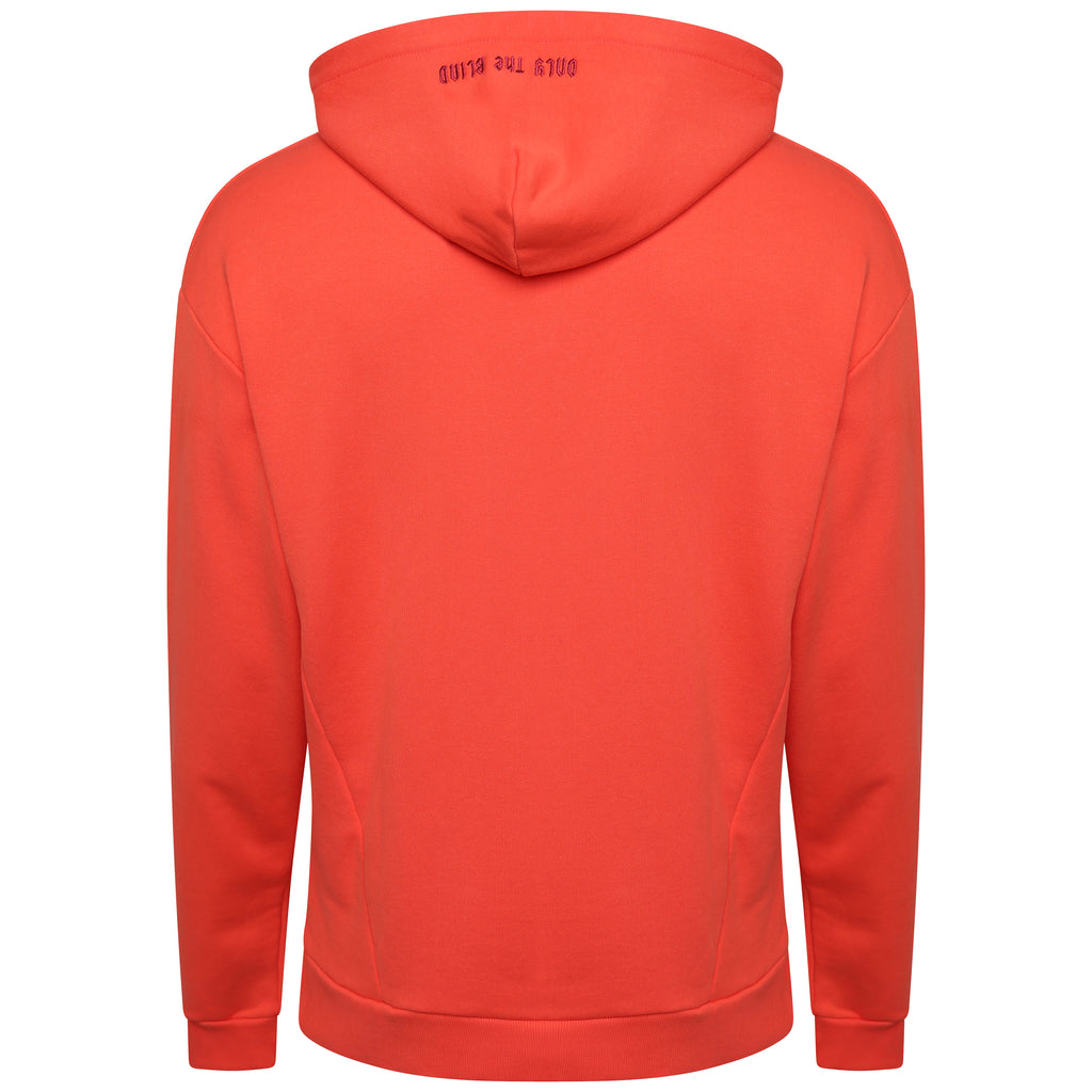 ONLY THE BLIND Embroidered grenadine hooded sweatshirt