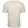 Slub cotton ecru T-Shirt