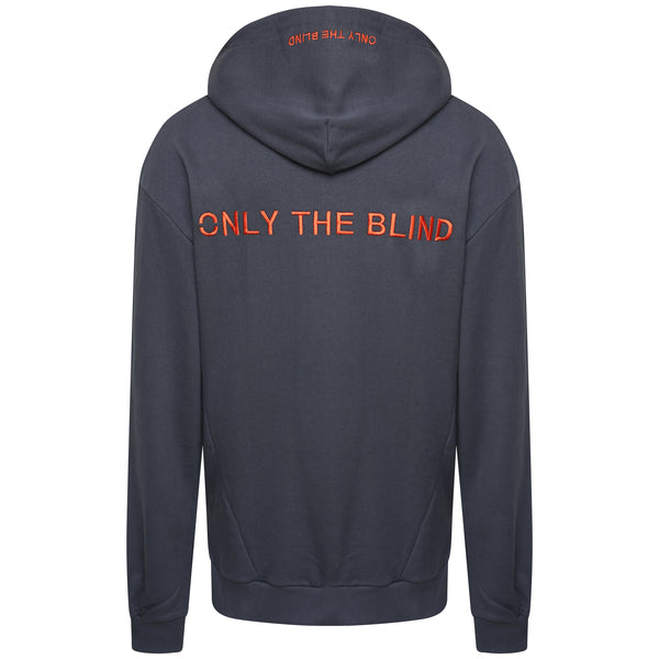 Only The Blind Embroidered hoodie