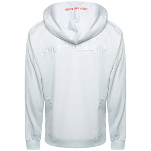 Technical glacier grey poly sweatshirt