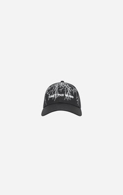 Black Lightning Baseball Cap