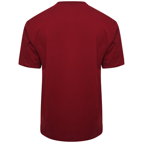 Essential Cotton Maroon Oversized T-Shirt