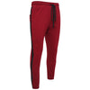 Cotton Maroon Sweatpants