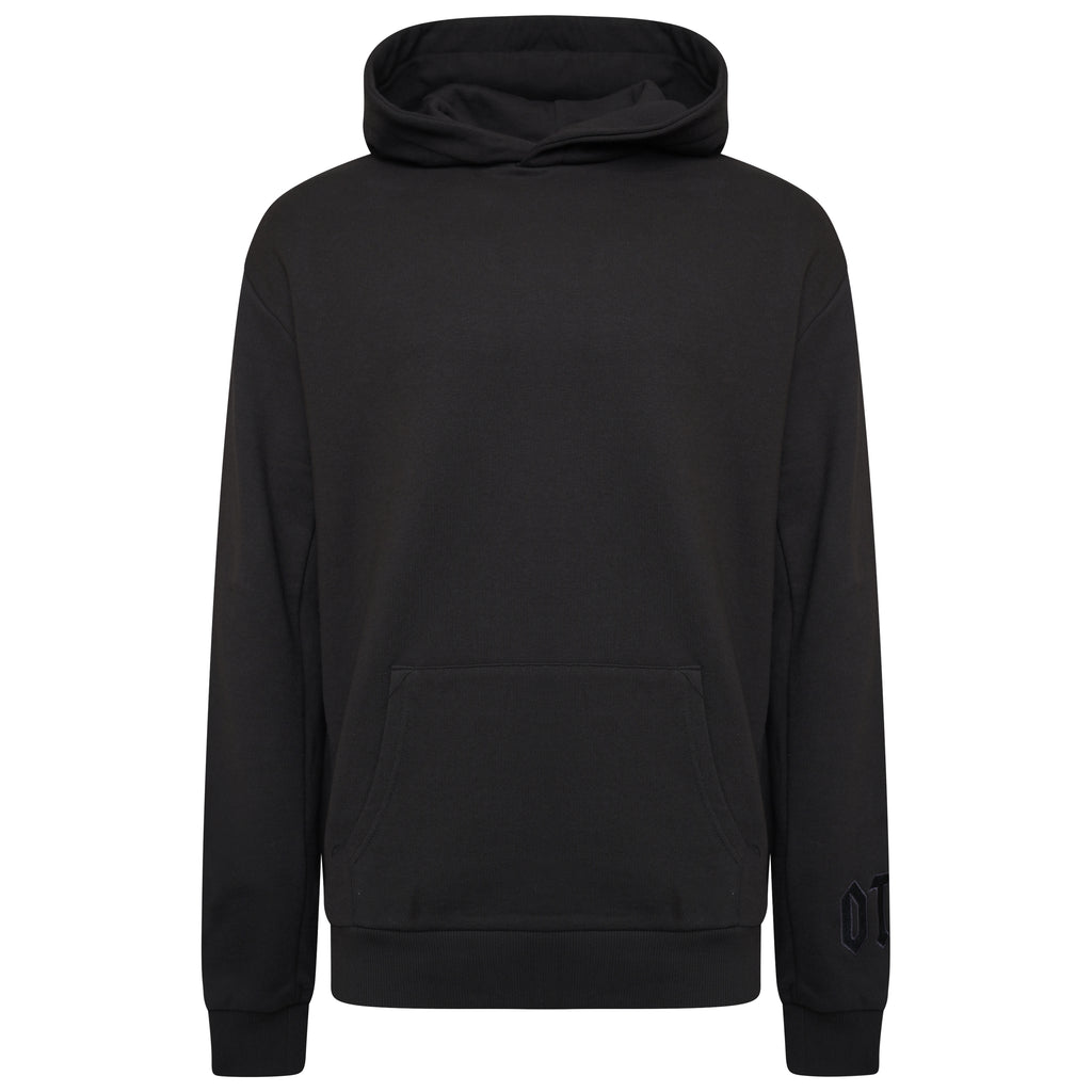Cotton Triple Black Statement Sweatshirt