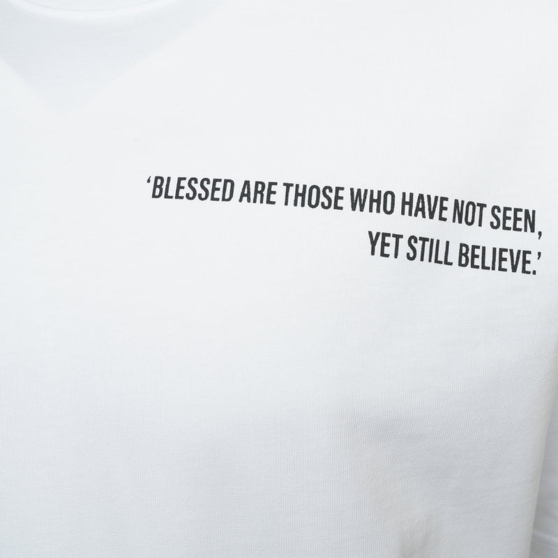 White Blessed T-Shirt