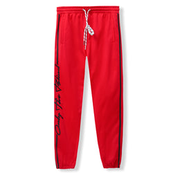 Red Racer Joggers