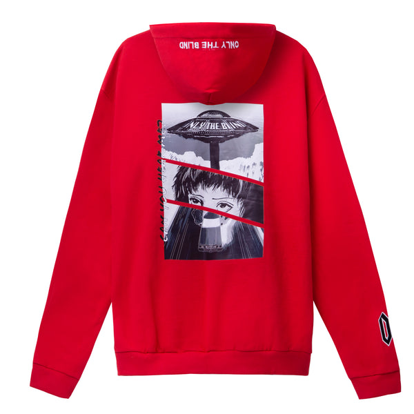 Red Abduction Sweatshirt