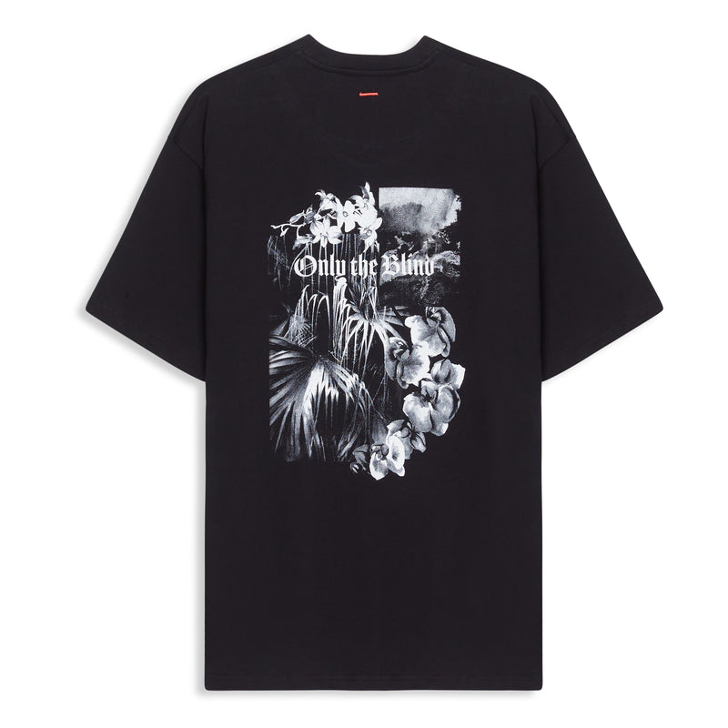 Black Tropical T-Shirt