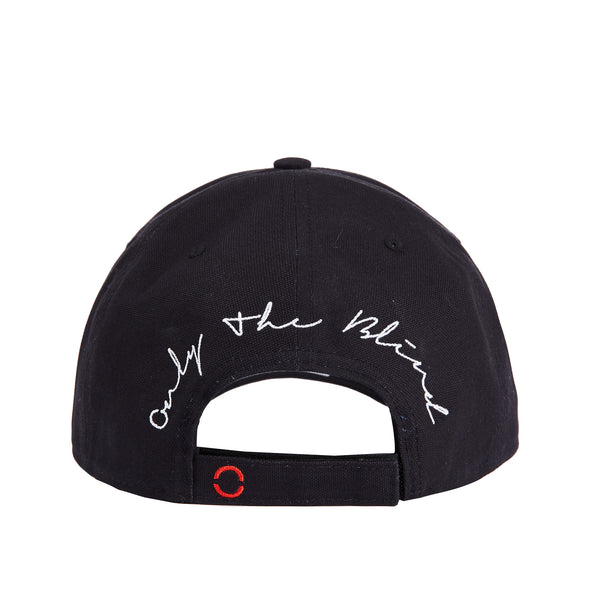 Cotton wave black baseball hat