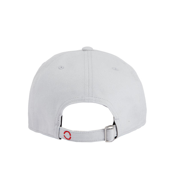 Cotton signature ice grey baseball hat