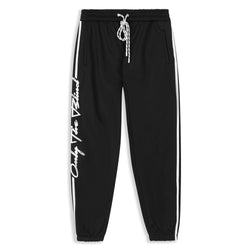 Black & White Racer Joggers