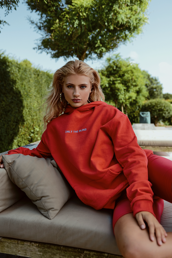 Essential Cotton Red Sweatshirt
