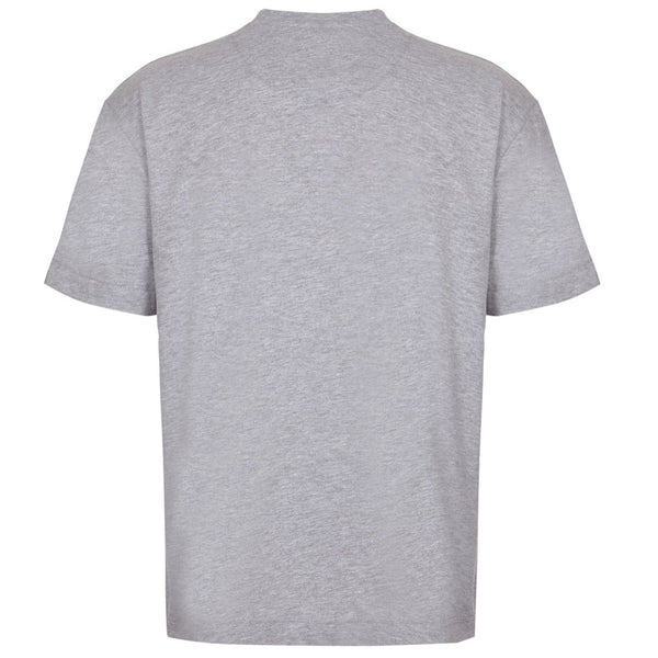 Essential Cotton Grey Marl Oversized T-Shirt