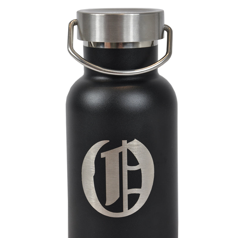 Crew Logo Stainless Steel Flask