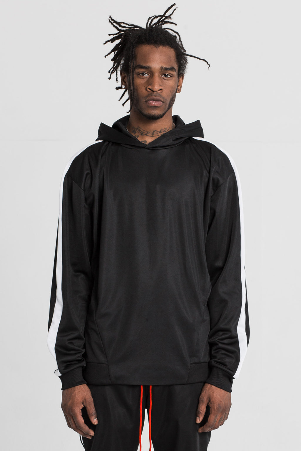 Black Technical Track Hood by Only The Blind