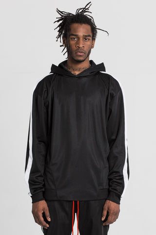 Black Technical Track Hood