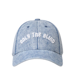 Signature Denim Baseball Cap