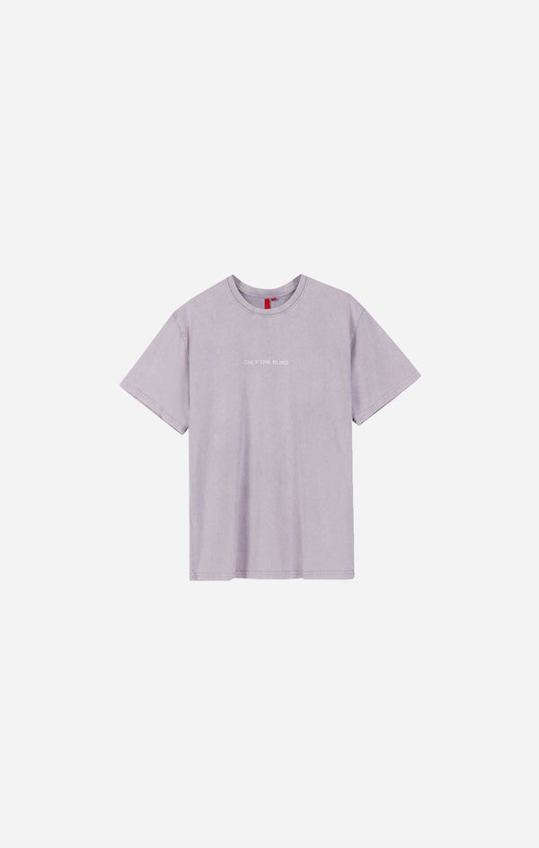 Essential Cotton Lilac Stonewash T-Shirt