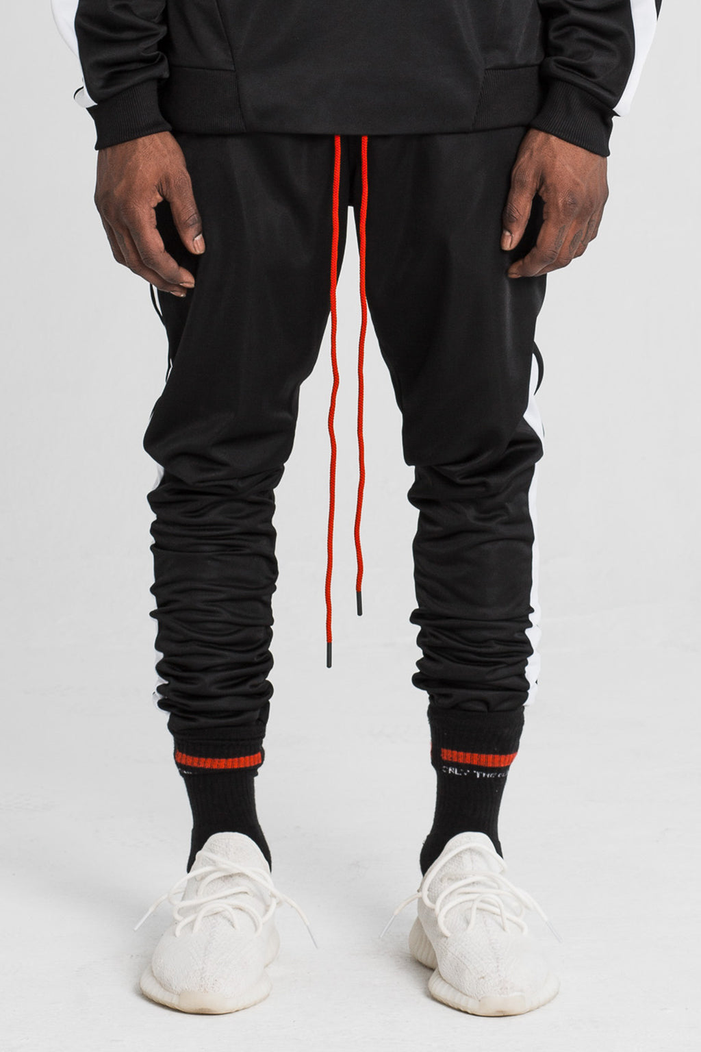 Black Technical Track Pant by Only The Blind