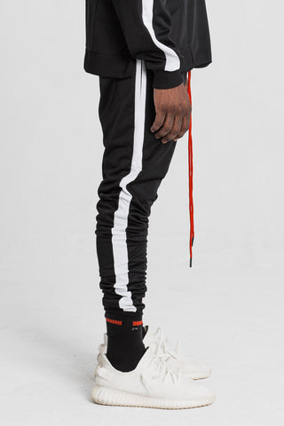 Black Technical Track Pant