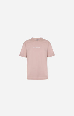 Essential Cotton Dust Pink Oversized T-Shirt