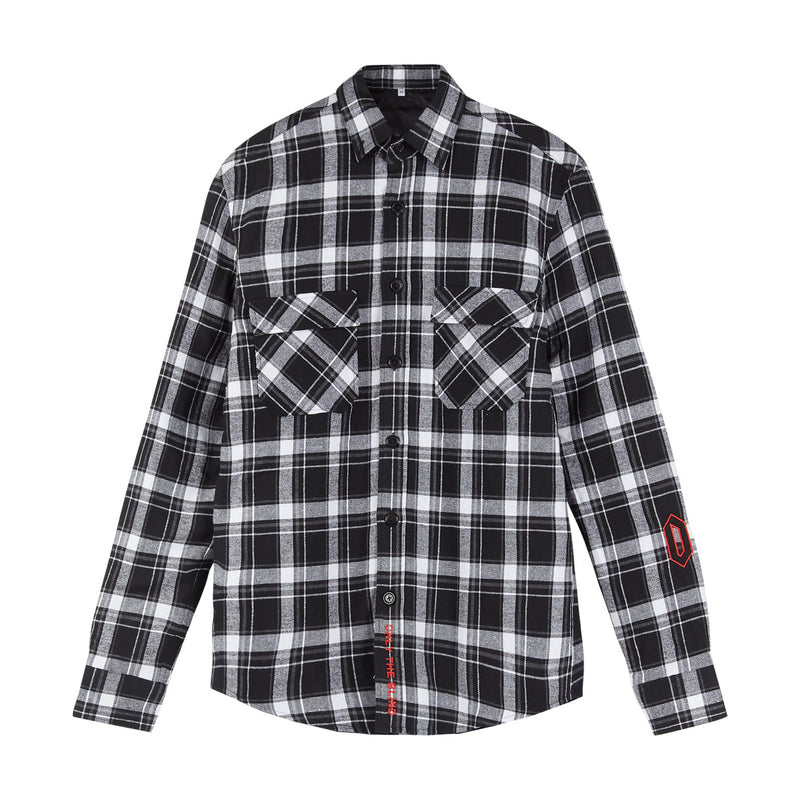 Statement Flannel Shirt