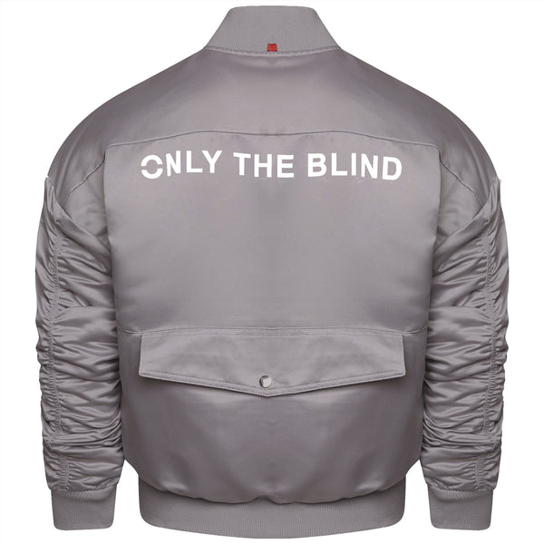 Signature Satin Space Grey Bomber