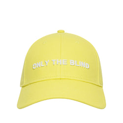 Cotton signature yellow baseball hat