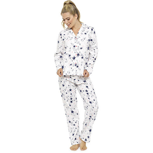 Star brushed cotton pjs