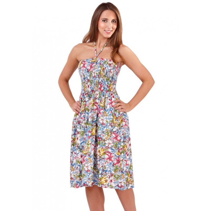 Hibiscus 🌺 floral multiway dress