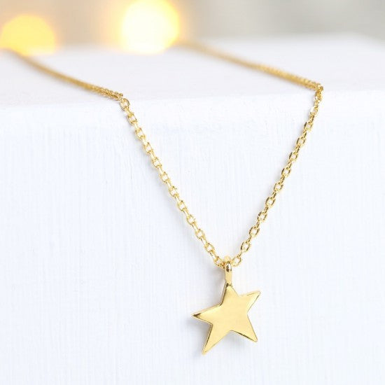 Gold asymmetric ⭐️necklace