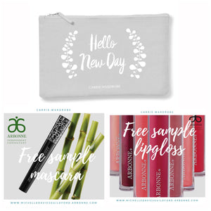 Hello new day make up bag