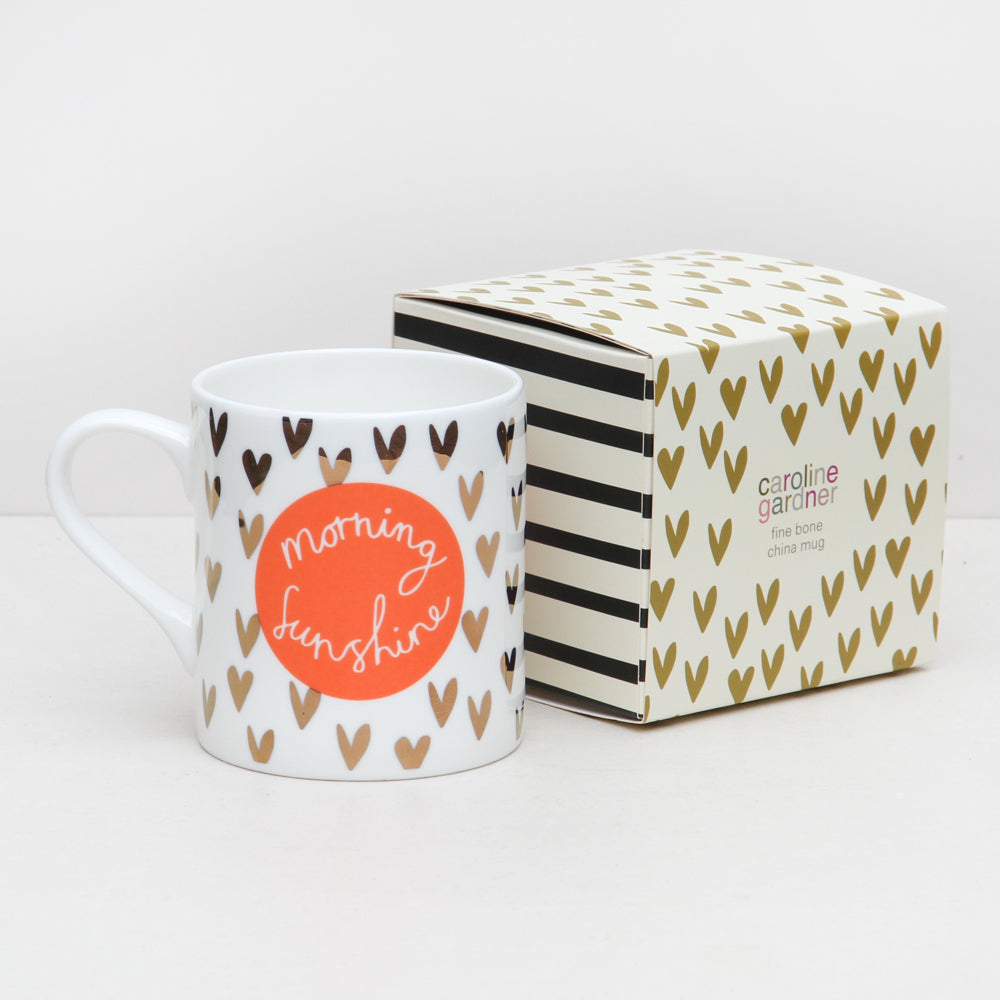 Caroline Gardner Morning Sunshine Boxed Mug