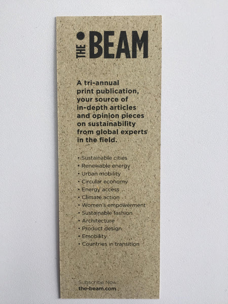 The Beam #7 - Matabooks Vegan Bookmark