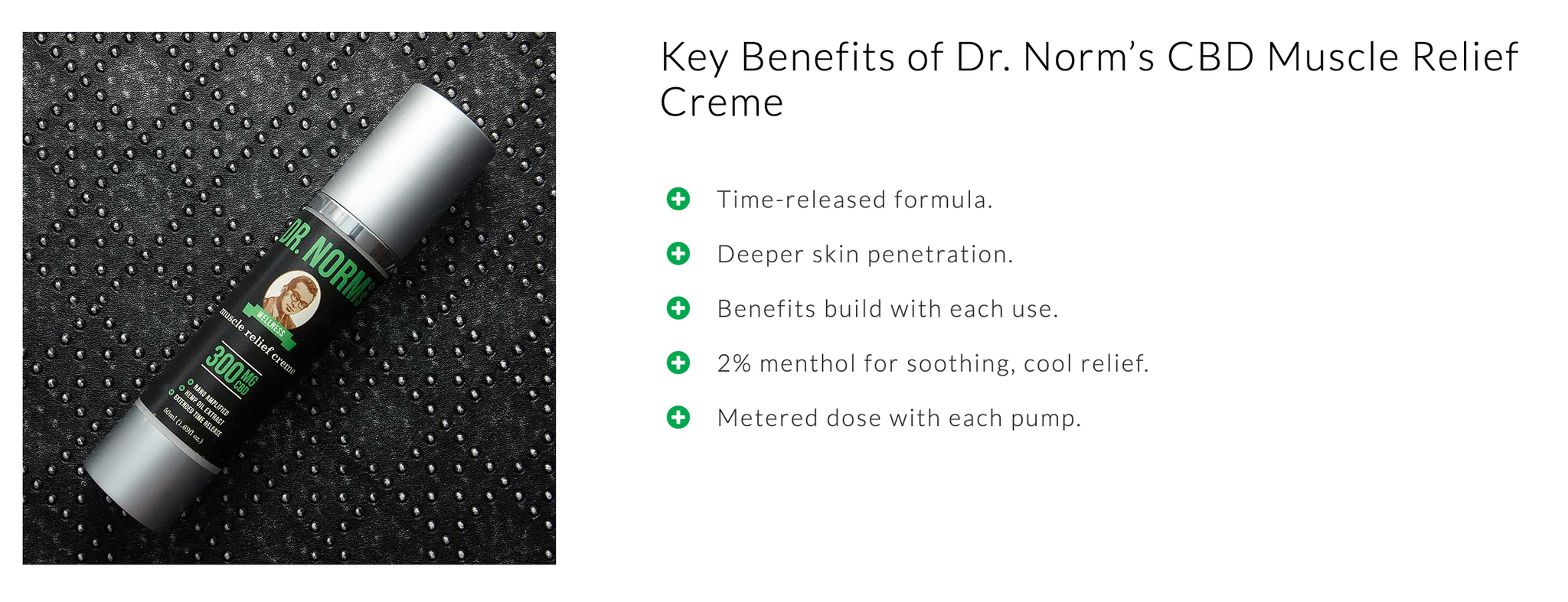 Dr. Norms Muscle Relief Creme