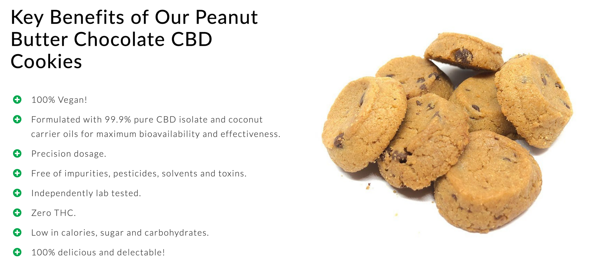 Dr. Norm's Peanut Butter Chocolate CBD Cookies